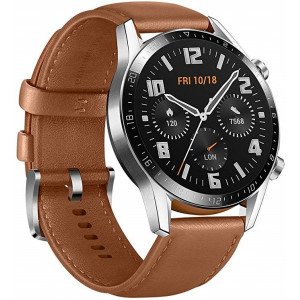 Smart Saat Huawei GT 2 46mm Classic Leather Brown