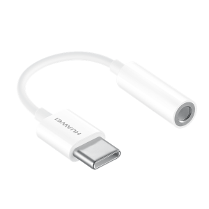 Adapter Huawei 3.5 mm to USB-C White