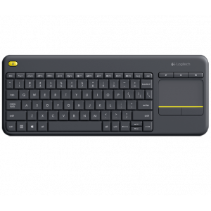 Klaviatura Logitech Wireless Touch Keyboard K400 Plus