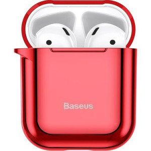 Qulaqlıq Qabı Baseus Airpods Shining hook Red