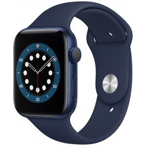 Smart Saat Apple Series 6 44mm Blue
