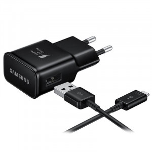 Adapter Samsung Type-C Fast Charger Black