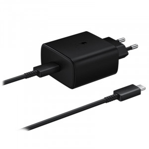 Adapter Samsung Type-C Fast (45W) Charger Black