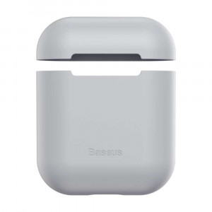 Qulaqlıq Qabı Baseus Airpods 2 Ultrathin Gel Grey