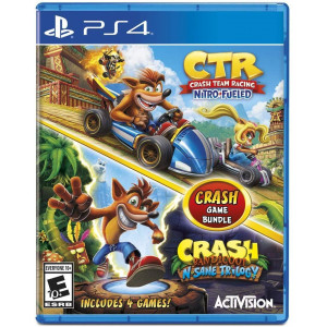 PlayStation 4 Crash Nitro Fueled and Nsane Trilogy
