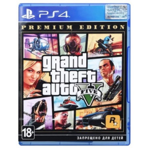 PlayStation 4 Grand Theft Auto V (GTA 5): Premium Edition