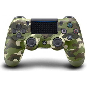 PlayStation 4 Joystick Green Camouflage