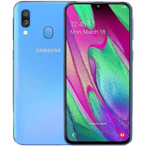 Samsung Galaxy A40 Mavi Outlet
